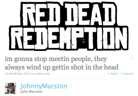 Game Characters Who Use Twitter Game Characters Who Use Twitter red dead header